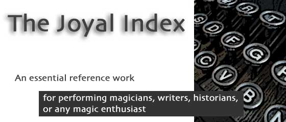 The Joyal Index